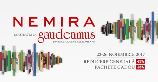 Nemira la Gaudeamus 2017